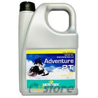 Моторное масло MOTOREX SNOWMOBILE ADVENTURE 2T, 4л