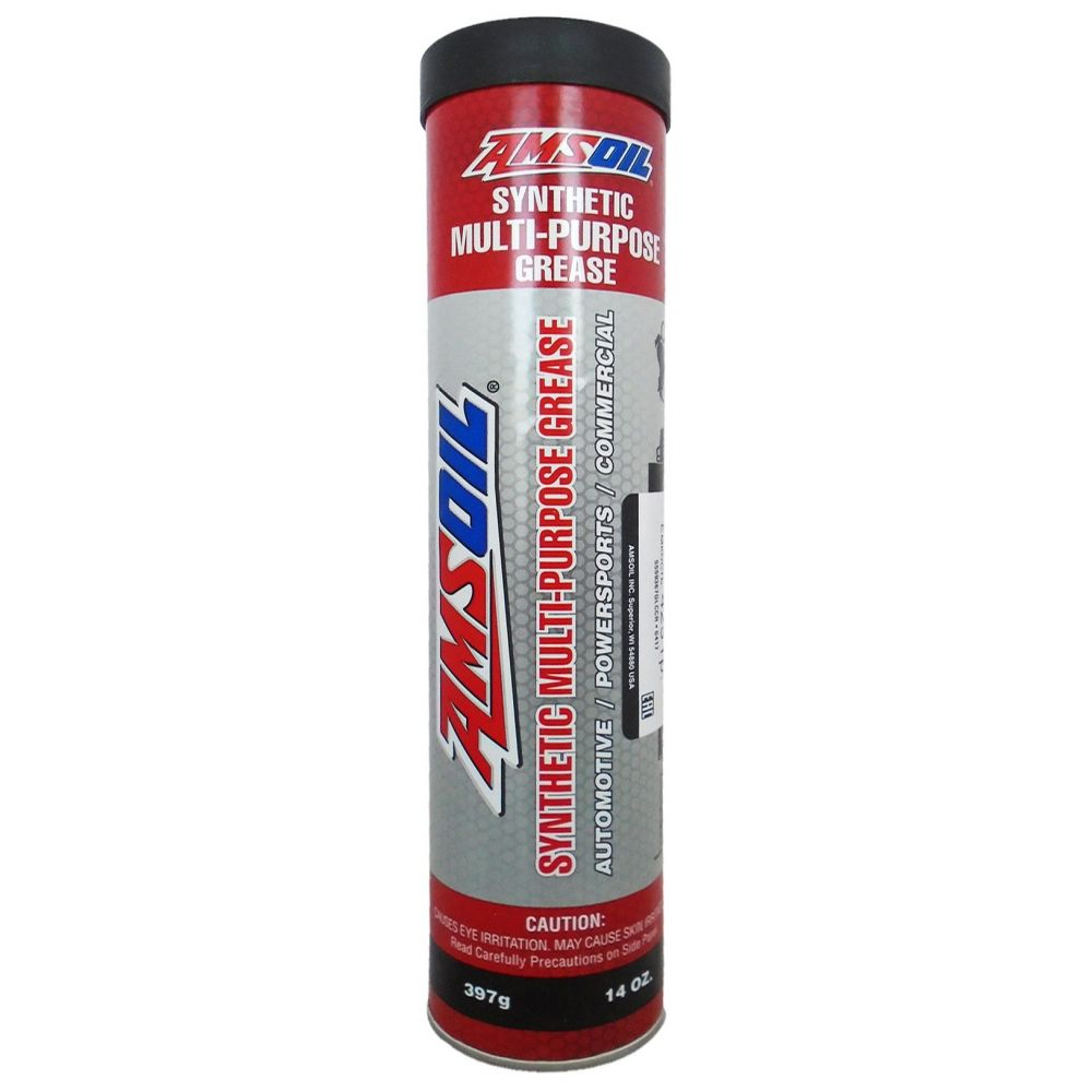 Смазка AMSOIL Synthetic Multi-Purpose Grease NLGI2, 397гр