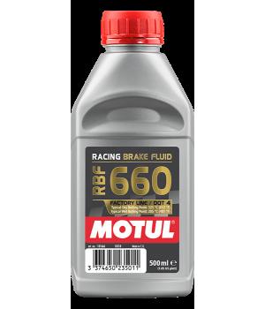 Тормозная жидкость MOTUL RBF 660 Factory Line, 0,5 л.