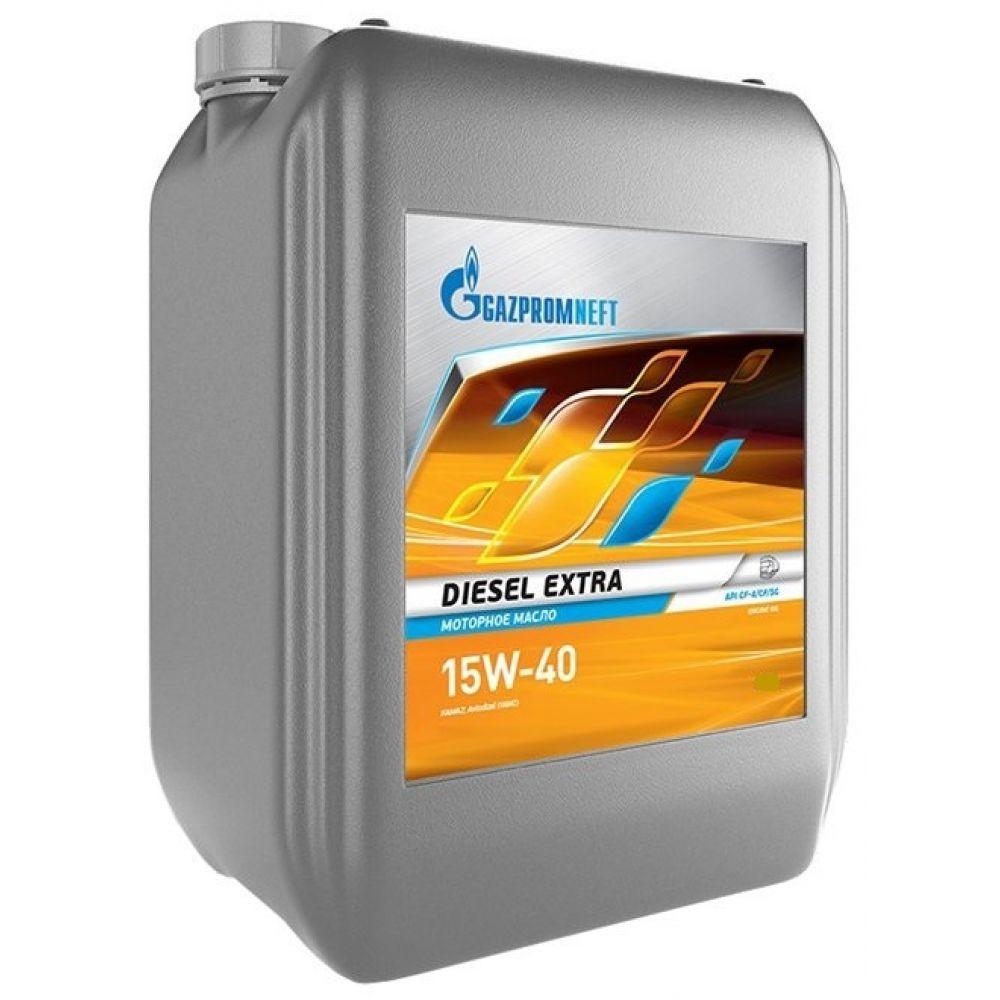 Моторное масло Gazpromneft Diesel Extra 15W-40, 10л