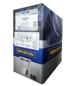 Масло для 2-Такт снегоходов RAVENOL Snowmobiles Mineral 2-Takt (20л) ecobox