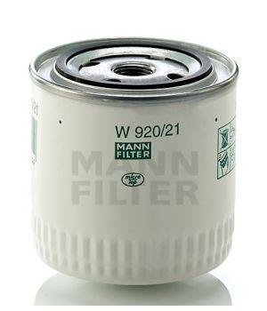 Масляный фильтр MANN-FILTER W 920/21