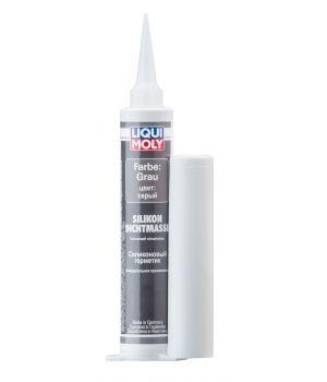 Силиконовый герметик (серый) LIQUI MOLY Silicon-Dichtmasse grau, 0,08л