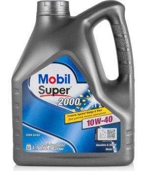 Моторное масло MOBIL Super 2000 X1 10W-40, 4л