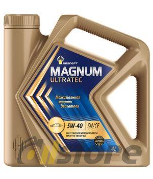 Моторное масло Rosneft Magnum Ultratec 5W-40 (РНПК), 4л