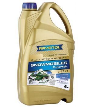 Масло для 2-Такт снегоходов RAVENOL Snowmobiles Fullsynth. 2-Takt (4 л) new