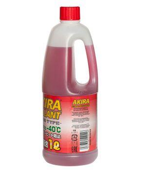 Антифриз Akira Coolant -40°C красный, 1л
