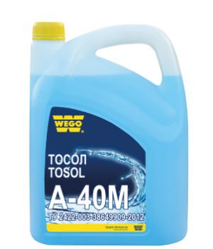 Охлаждающая жидкость WEGO Тосол А-40М, 4,6л