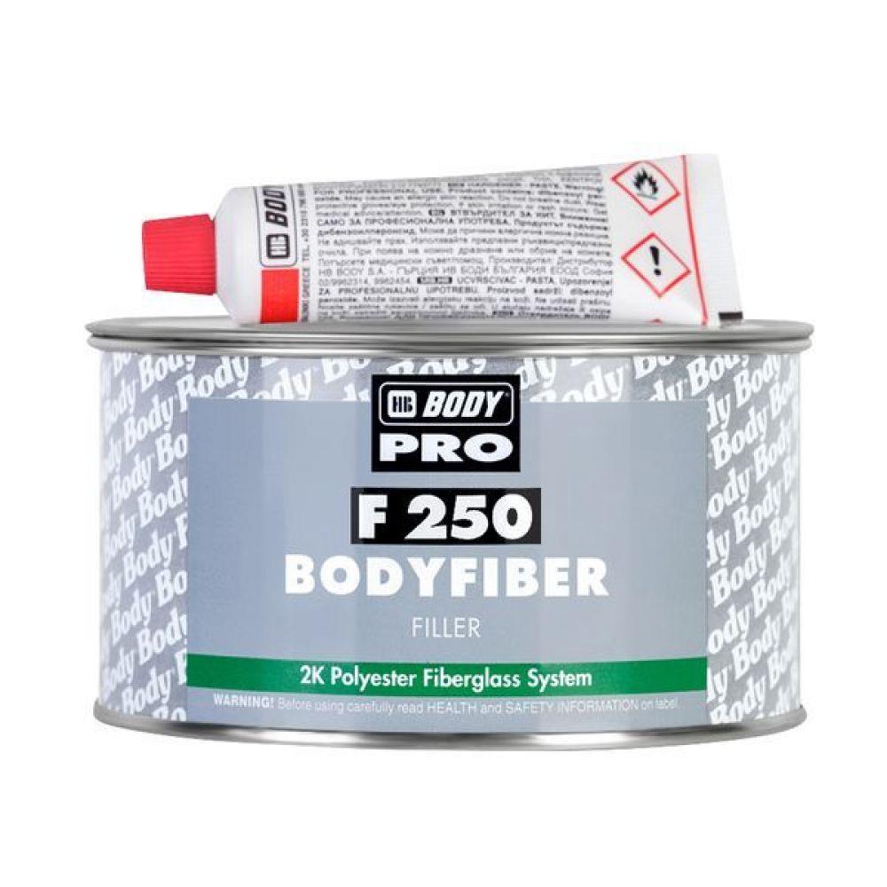 Полиэфирная  шпатлевка BODY BodyFiber 250, 0,75кг