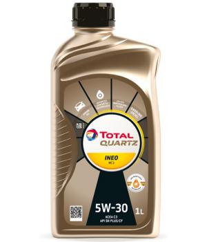 Моторное масло Total QUARTZ INEO MC3 5W-30, 1л
