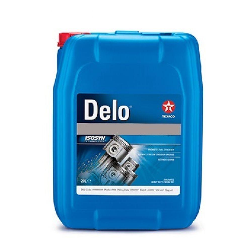 Трансмиссионное масло Texaco DELO TorqForce 10W, 20л