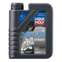 Моторное масло для 4-тактных мотоциклов LIQUI MOLY Motorbike 4T Street 20W-50, 1л