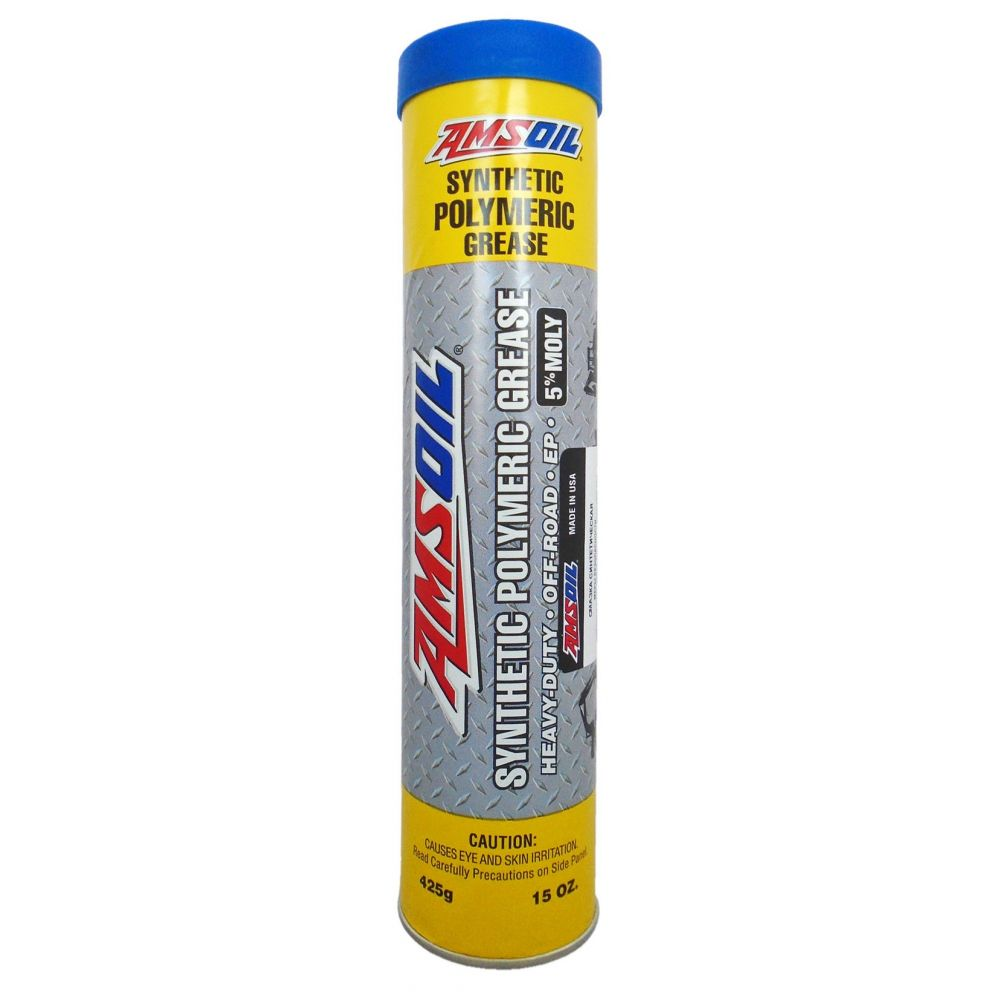 Смазка AMSOIL Synthetic Polymeric Off-Road Grease NLGI1, 425гр