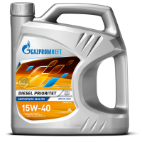 Моторное масло Gazpromneft Diesel Prioritet 15W-40, 4л