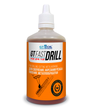 Смазочно-охлаждающая жидкость GT OIL GT Fast Drill, 100мл