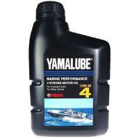 Моторное масло Yamaha YAMALUBE 4 10W-40 Marine Performance Oil, 1л