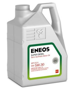 Моторное масло ENEOS Super Diesel Semi-Synthetic 5W-30, 6 л.