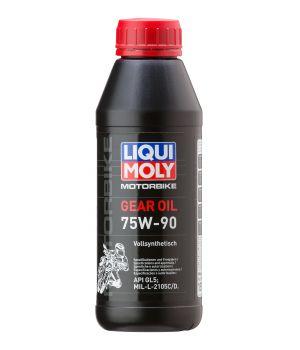 Трансмиссионное масло для мотоциклов LIQUI MOLY Motorbike Gear Oil 75W-90, 0,5л