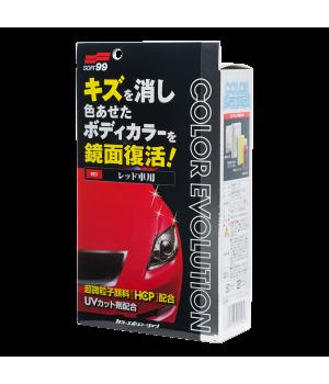 Полироль для кузова цветовосстанавливающий Soft99 Color Evolution Red для красных, 100 мл