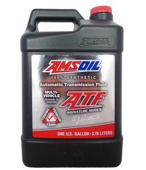 Трансмиссионное масло AMSOIL Signature Series Multi-Vehicle Synthetic Automatic Transmission Fluid (ATF), 3,78 л