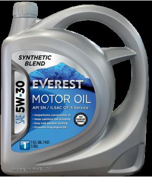 Моторное масло Everest 5W-30, 4л