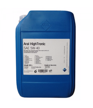 Моторное масло ARAL HighTronic 5W-40, 20 л.