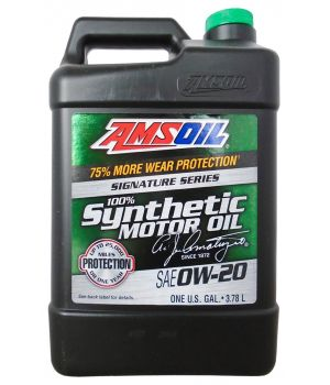 Моторное масло AMSOIL Signature Series Synthetic Motor Oil SAE 0W-20 (3,784л)