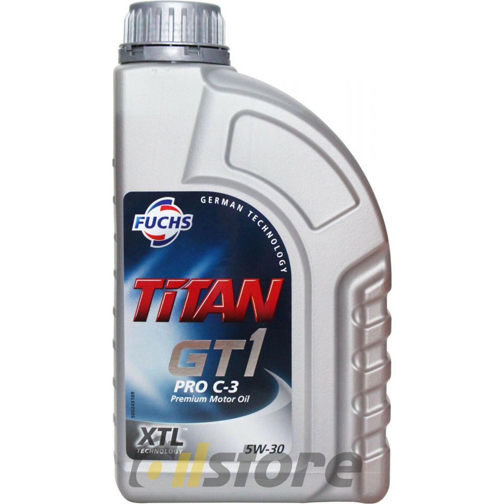 Моторное масло FUCHS Titan GT1 PRO C-3 5W-30, 1л