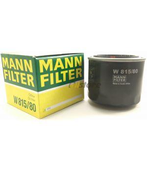 Масляный фильтр MANN-FILTER W 815/80