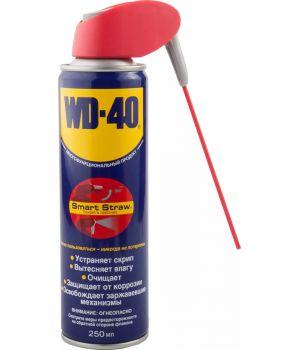 Смазка универсальная WD-40, 250мл (с трубочкой)