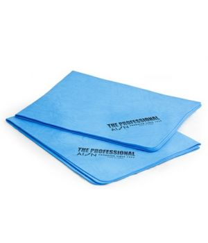 Водопоглощающие салфетки AION Professional Chamois, 2 шт., 43х33см (голубые)