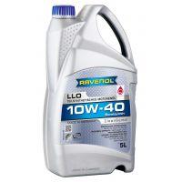 Моторное масло RAVENOL LLO SAE 10W-40 ( 5л) new