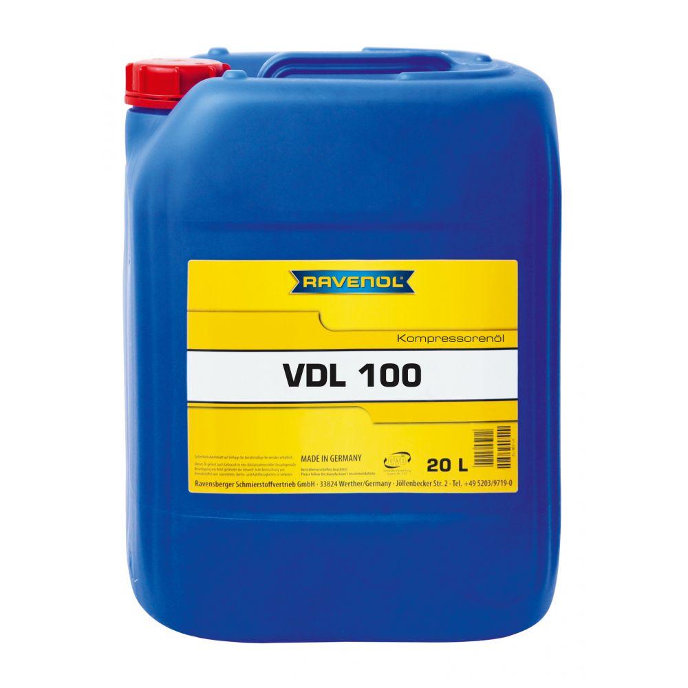 Компрессорное масло RAVENOL Kompressorenoel VDL 100 (20л) new