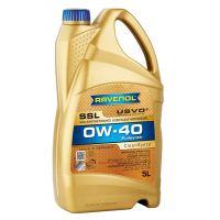 Моторное масло RAVENOL Super Synthetik Oel SSL SAE 0W-40, 5л