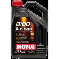 Моторное масло MOTUL 8100 X-Clean 5W-40, 4л