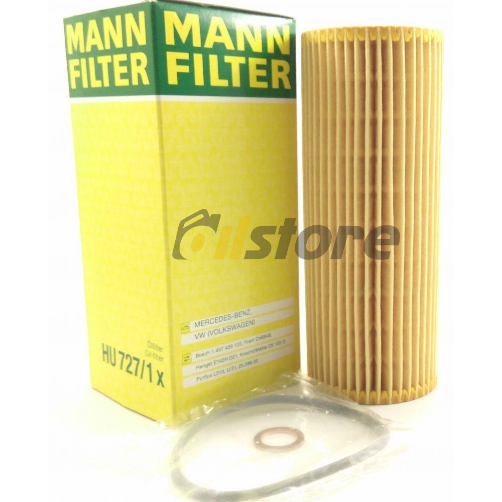 Масляный фильтр MANN-FILTER HU 727/1 X