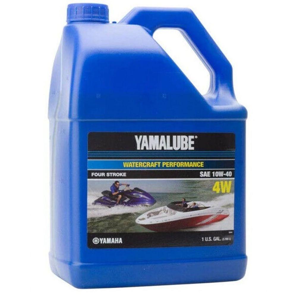 Моторное масло Yamaha YAMALUBE 4W 10W-40, 3.78л