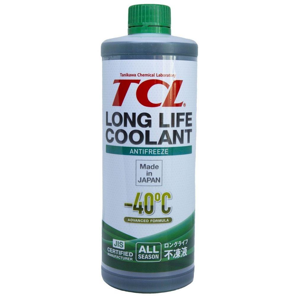 Антифриз TCL Long Life Coolant GREEN -40°C, 1л