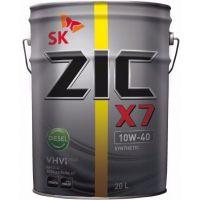 Моторное масло ZIC X7 Diesel 10W-40, 20 л.