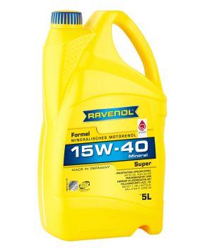 Моторное масло RAVENOL Formel Super SAE 15W-40 SF-CD ( 5л) new
