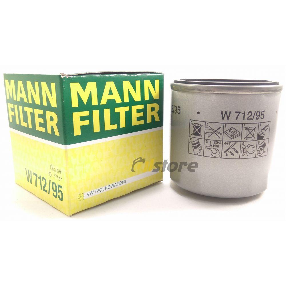 Масляный фильтр MANN-FILTER W 712/95