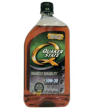 Моторное масло QUAKER STATE Enhanced Durability SAE 10W-30 (0,946л)