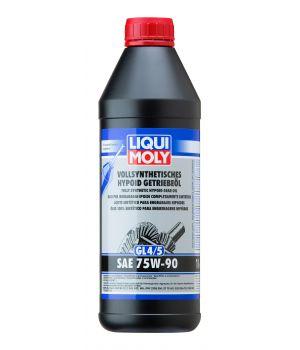 Трансмиссионное масло LIQUI MOLY Vollsynthetisches Hypoid-Getriebeoil 75W-90, 1л