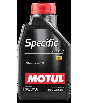 Моторное масло MOTUL Specific 229.52 5W-30, 1л