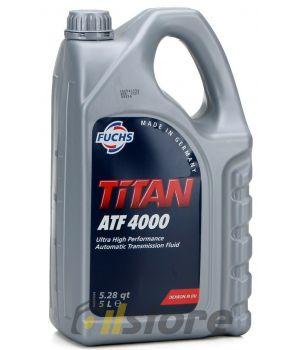 Трансмиссионное масло FUCHS Titan ATF 4000, 5л