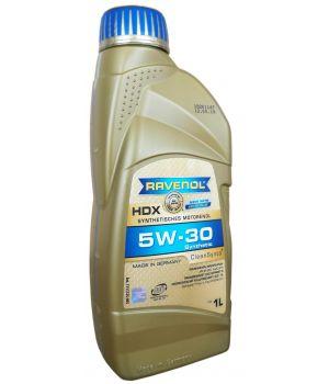 Моторное масло RAVENOL HDX SAE 5W-30 (1л)