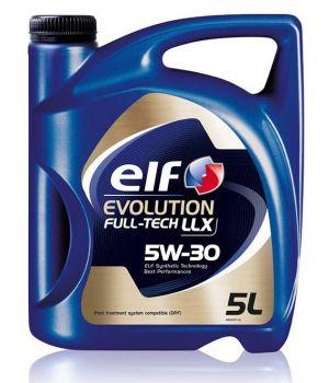 Моторное масло ELF Evolution FULL-TECH LLX 5W-30, 5л