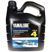 Моторное масло Yamaha YAMALUBE 4 10W-40 Marine Performance Oil, 4л