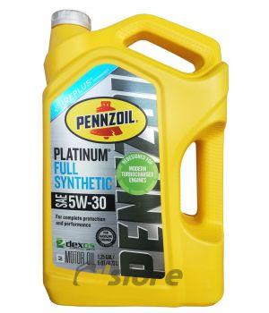 Моторное масло PENNZOIL Platinum SAE 5W-30, 4,73л