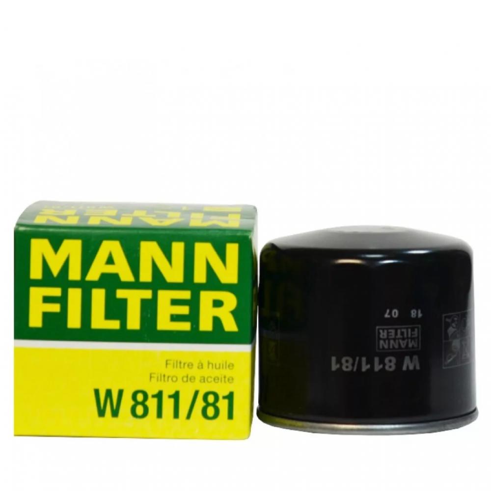 Масляный фильтр MANN-FILTER W 818/81
